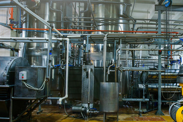 Russian dairy plant