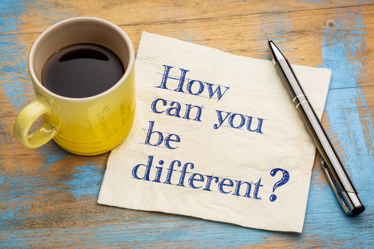 How can you be different?