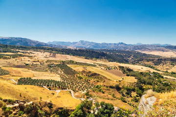 view from Ronda, Spain