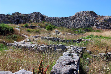 Ancient Greek city Tauric Hersonissos in Sevastopol, Crimea