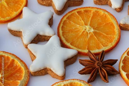 Weihnachtsgebäck Zimtsterne.Christmas Cookies Weihnachtsgebäck Zimtsterne Getrocknete