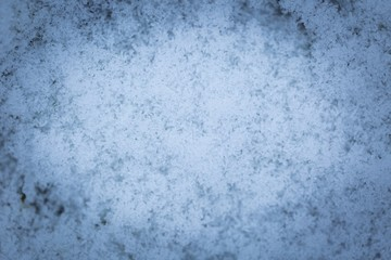 Snow texture in close up.
