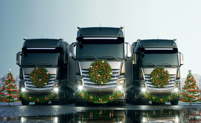 Christmas Trucks 01
