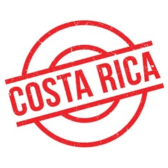 Costa Rica rubber stamp. Grunge design with dust scratches. Effects can be easily removed for a clean, crisp look. Color is easily changed.
