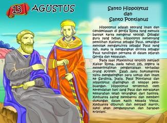 saint huppolitus and saint pontianus