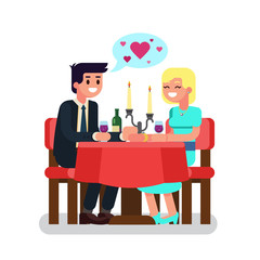 Man and woman in cafe. Romantic date. Couple in love.