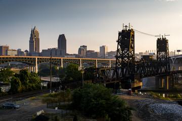 Destination Cleveland, Ohio - Skyline View