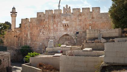 Cemetery in Jerusalem.