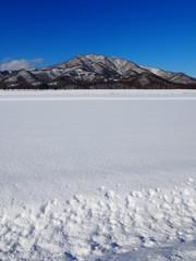 十勝平野と日高山脈