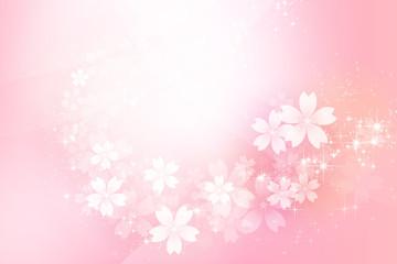 ピンク色のきらめく抽象的背景