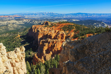 Gorgeous rock formation. Bryce Canyon National Park. Utah, Unite