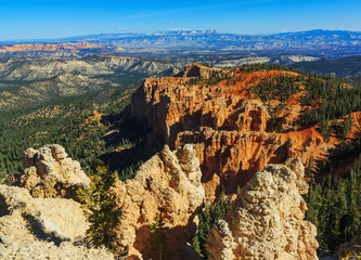 Handsome rock formation. Bryce Canyon National Park. Utah, Unite