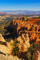 Picturesque rock formation. Bryce Canyon National Park. Utah, Un
