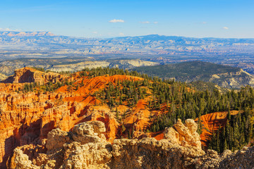 Fascinating rock formation. Bryce Canyon National Park. Utah, Un