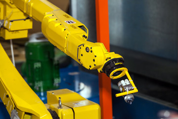 Industrial automatic robot hand used in any application