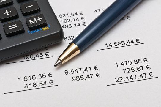 Taschenrechner, Umsatz und Statistik