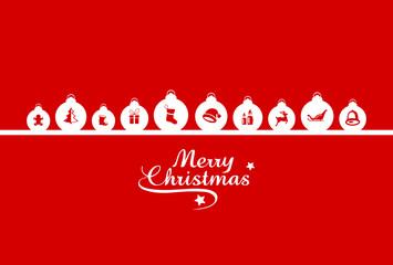 Weihnachten Christbaumkugeln