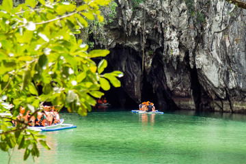 The Underground River of Puerto Princesa, Palawan, Philippines