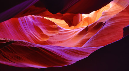 Printed roller blinds Canyon Antelope canyon