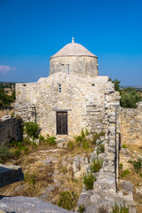 Ruins of an Orthodox monastery in Cyprus