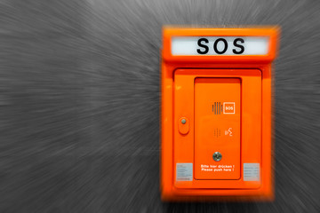 SOS Hilfe Notrufsäule