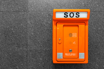 SOS Notruf Hilfe rufen