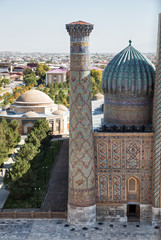 Top view of Samarkand
