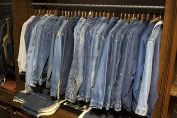 giacche denim vintage