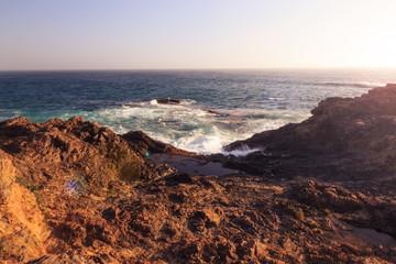 Felsenküste in Kalifornien