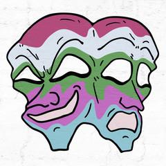 color faces