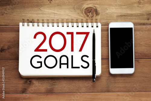 2017 goals word on notebook paper background photo and – Notebook Paper Background for Word