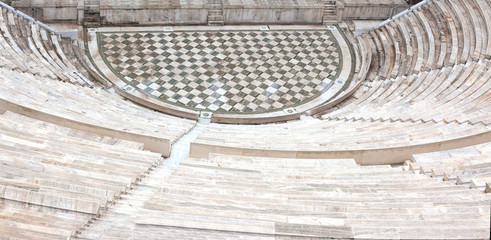 Ancient amphitheater.