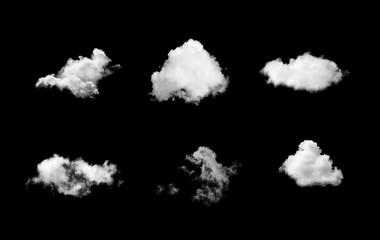 clouds over black  sky