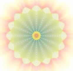 Meditative flower