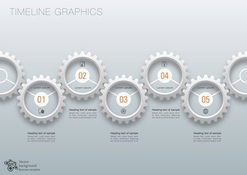 Workflow, Timeline, Process Chart #Vector Graphics