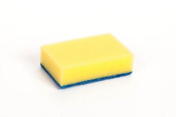 yellow scouring sponge