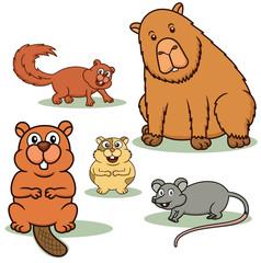 Rodent Animals Cartoon