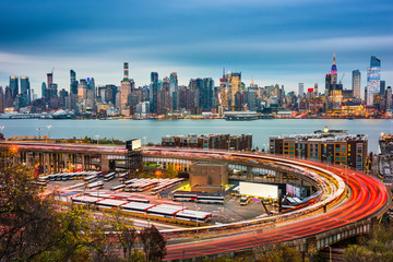 New York City and Highway Loop