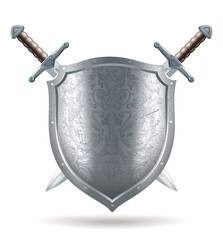 shield and sword illustration