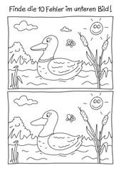 Fehlerbild Ente