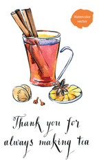 Thank you for always making tea
