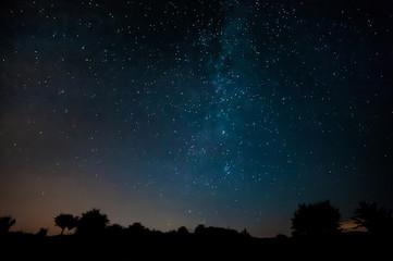 Night sky, Milky way, Stars