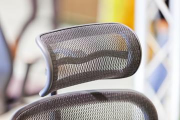 headrest on the chair