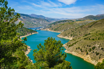 Fotobehang Kust Sierra Nevada, Anadalusien, Spanien