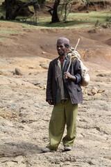 Landwirt aus Äthiopien
