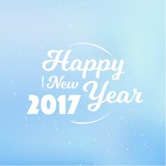 Happy New Year 2017 Label