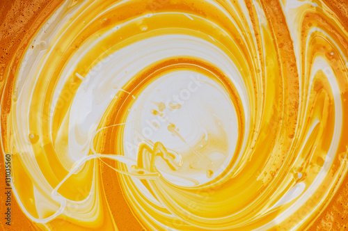 quotmixed yellow and white paintquot imagens e fotos de stock