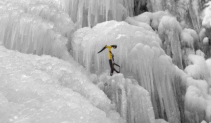 Ice pick on the icefall
