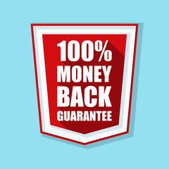 100% Money Back Guarantee shield