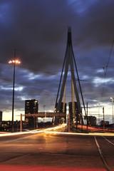 Poster Swan Skyline bridge